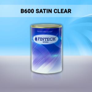 BARNIZ B600 SATIN CLEAR